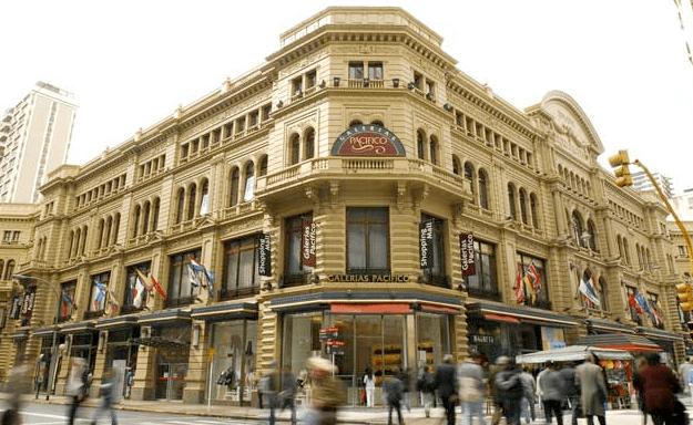 Galerias Pacífico - Buenos Aires - AR Fonte: http://www.buenosaires.travel/pt/galerias-pacifico-san-nicolas/