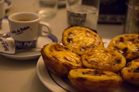 Os famosos e singulares Pastéis de Belém. Foto: Ivane Fávero
