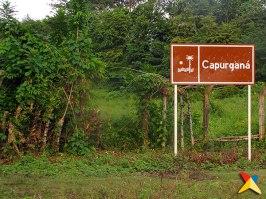 Entrada al aeropuerto de Capurganá