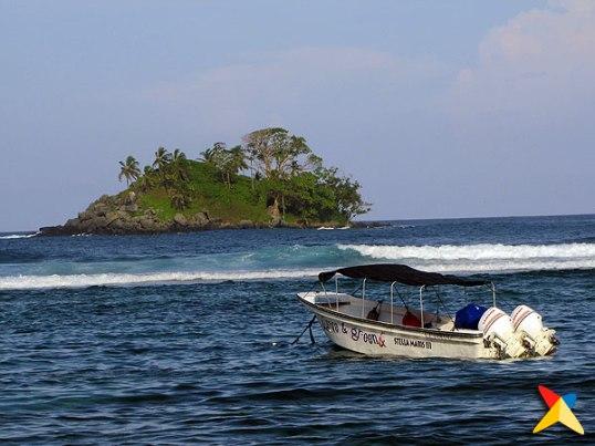 Isla de Narsa en Capurganá