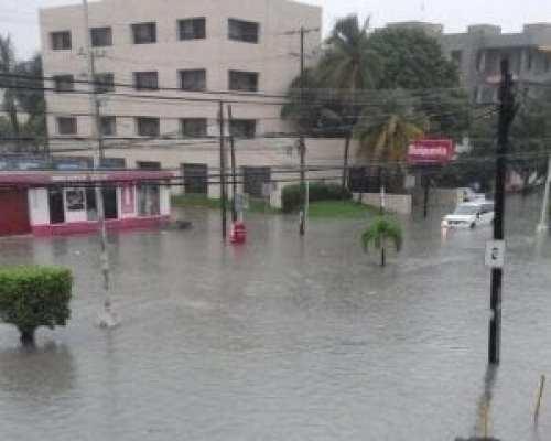 El clima en Riviera Maya: lluvias en Cancún, Quintana Roo