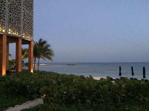 La playa del hotel Nizuc Spa & Resort de Cancún