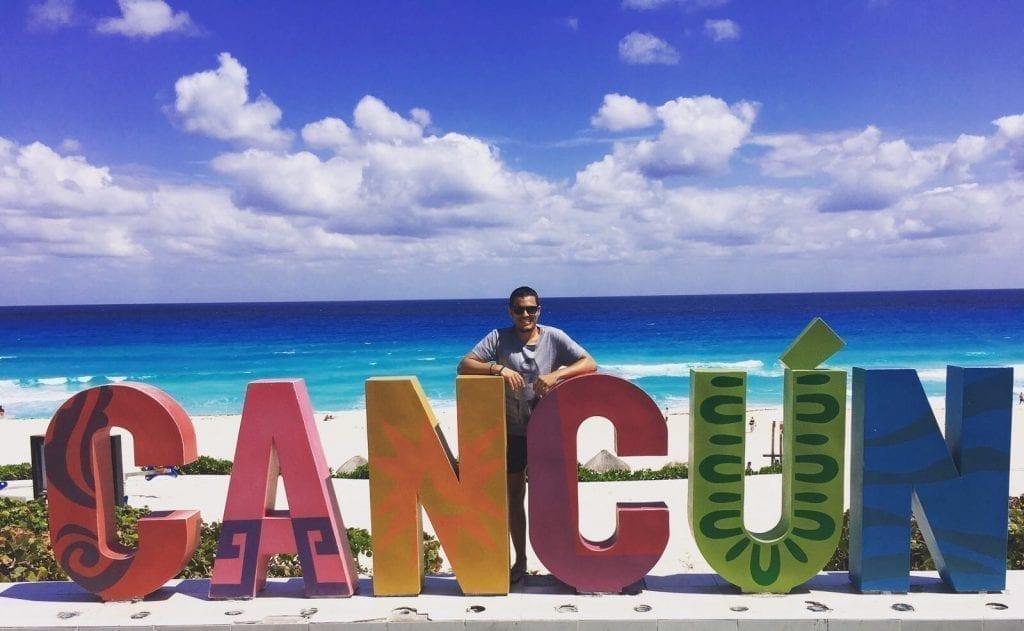 El mirador de Playa Delfines, en Cancún