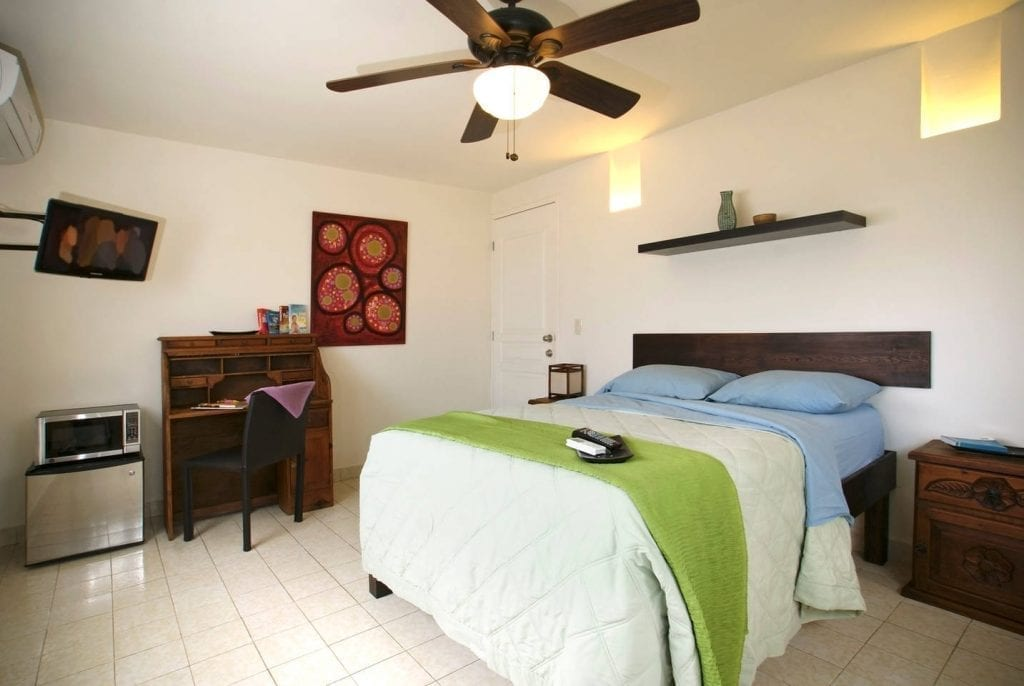 Habitación alquilada a través de Airbnb en Cancún