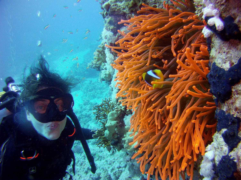 Annabel Almagro aventura en solitario en el Mar Rojo