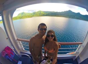 Crucero Princess Cruices en Bora Bora