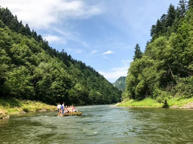 Descenso por el río Dunajec en Zakopane Polonia