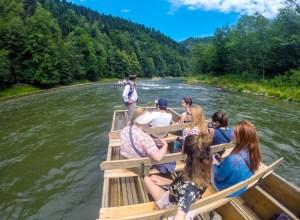 Desenso por el río Dunajec en Zakopane