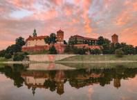 Castillo de Wawel en Cracovia Polonia