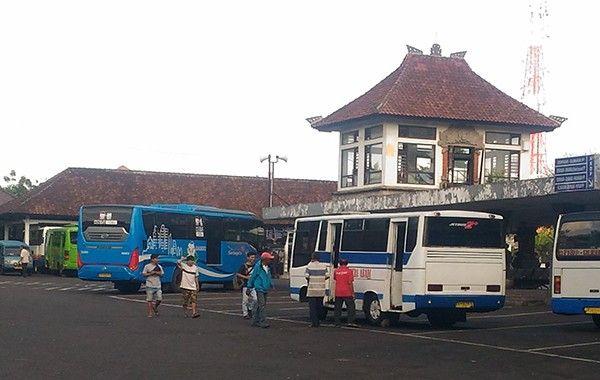 Terminal bus Ubung Bali