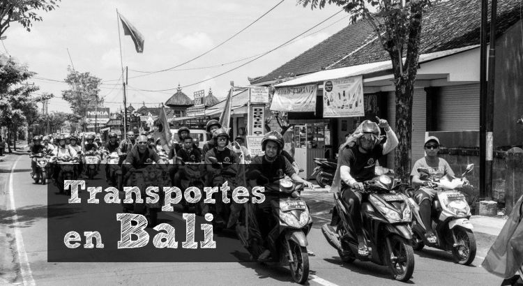Transportes en Bali