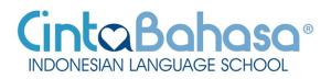 aprender bahasa indonesia - cinta bahasa