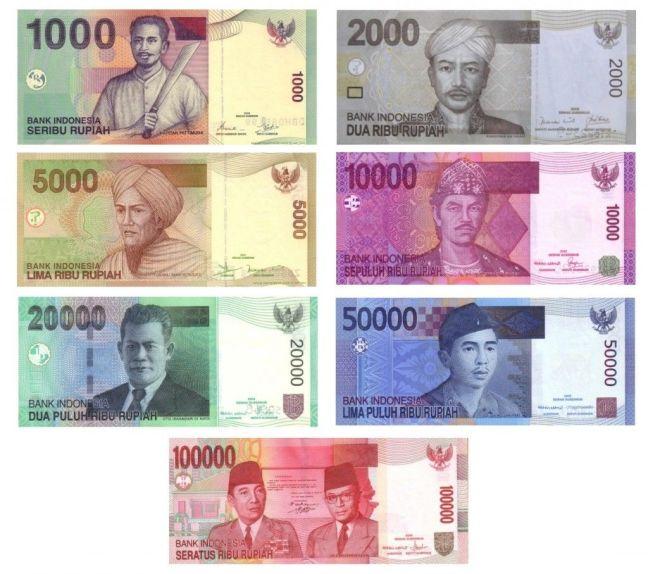 Cambiar tu dinero a rupias en Bali