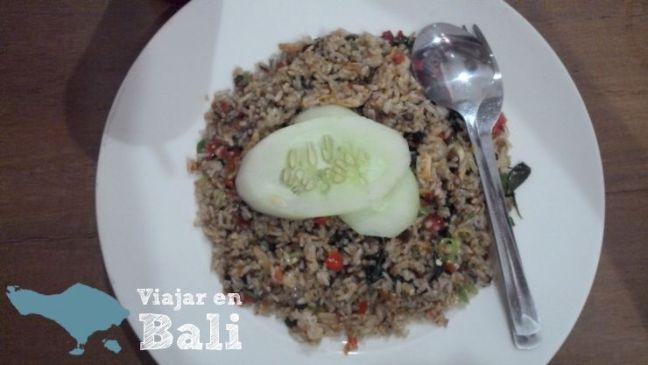 Comer en Bali Nasi Goreng