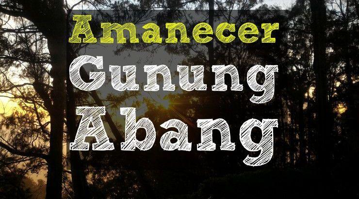 Excursión Amenecer Gunung Abang