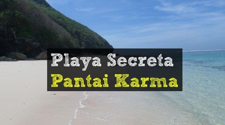 Playas secretas Bali - Pantai Karma