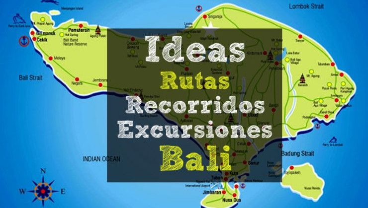 ideas recorridos excursiones bali
