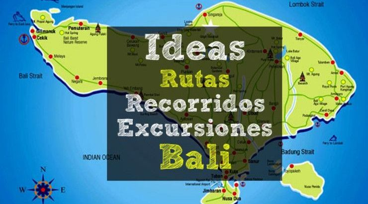 ideas recorridos excursiones bali
