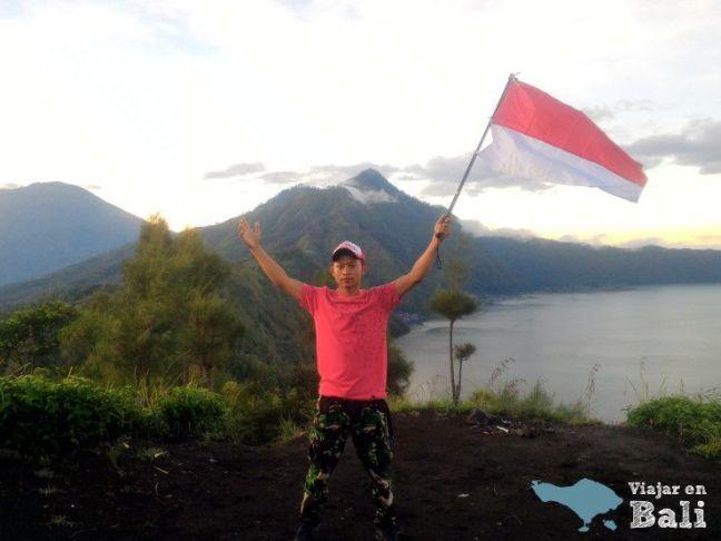 guia volcan batur Bali