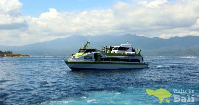 barco rápido a Lombok desde Bali