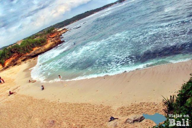 Playa Dream beach Nusa Lembongan