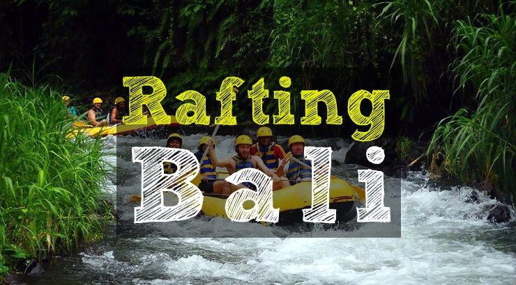Tour Rafting en Bali