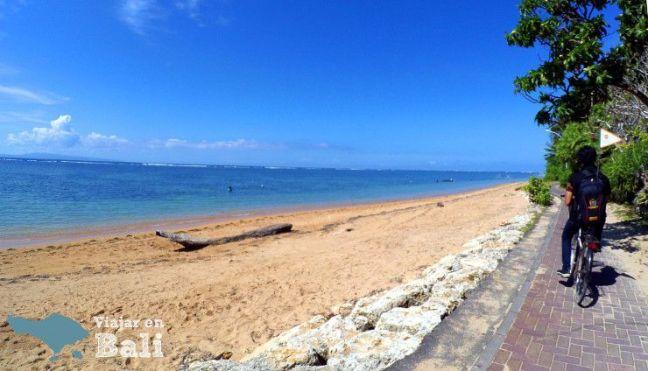 Playa de Sanur Itinerario Bali