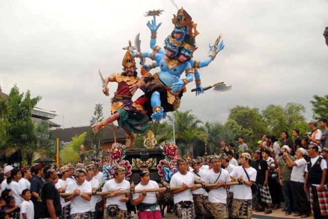 Ogoh Ogoh Nyepi Bali