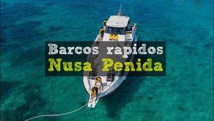 Barcos rápidos a Nusa Penida