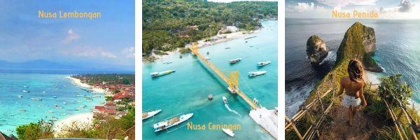 Islas Nusas - Comparativa