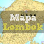 Mapa de Lombok, mapa turístico de Lombok y lugares útiles