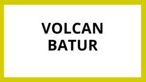 Tour Volcan Batur