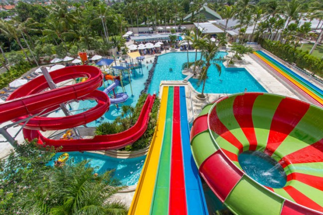 parque acuatico splash waterpark bali