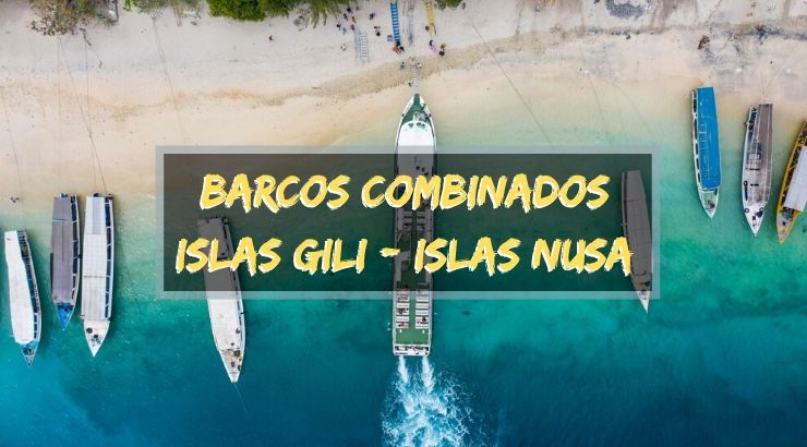 barcos entre islas gili islas nusa
