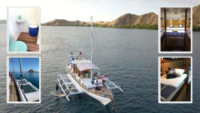 Alquilar barco tour komodo
