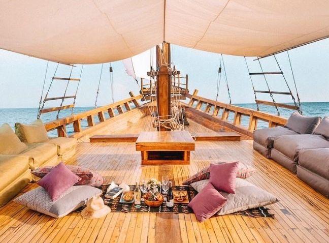 Detalles Barco Labuan Bajo
