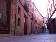 Calles llenas de historia en Cardona