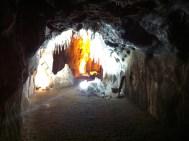 Interior de las minas