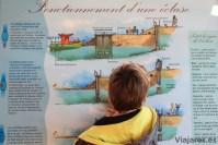 Así funcionan las esclusas del Canal du Midi en Francia