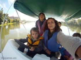Navegación en barco eléctrico por Moissac