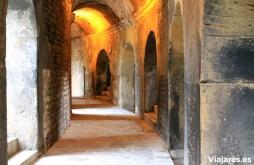 Pasadizos interiores del recinto romano