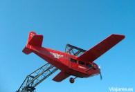 El Avión del Tibidabo, una de las atracciones más entrañables y antiguas del parque
