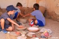 Tocando la historia de los íberos con las manos en Calafell