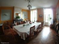 Comedor común del hotel Maison de Josephine