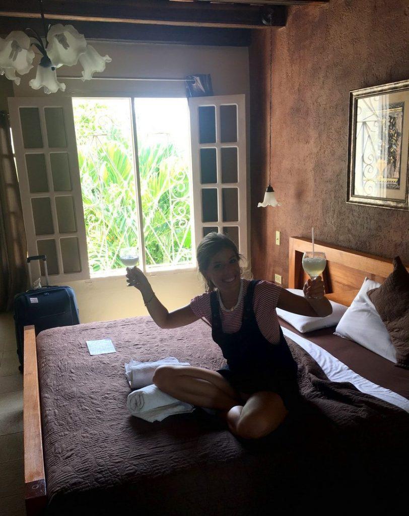 En nuestra habitación de la casa OsmaryAlberto, Trinidad
