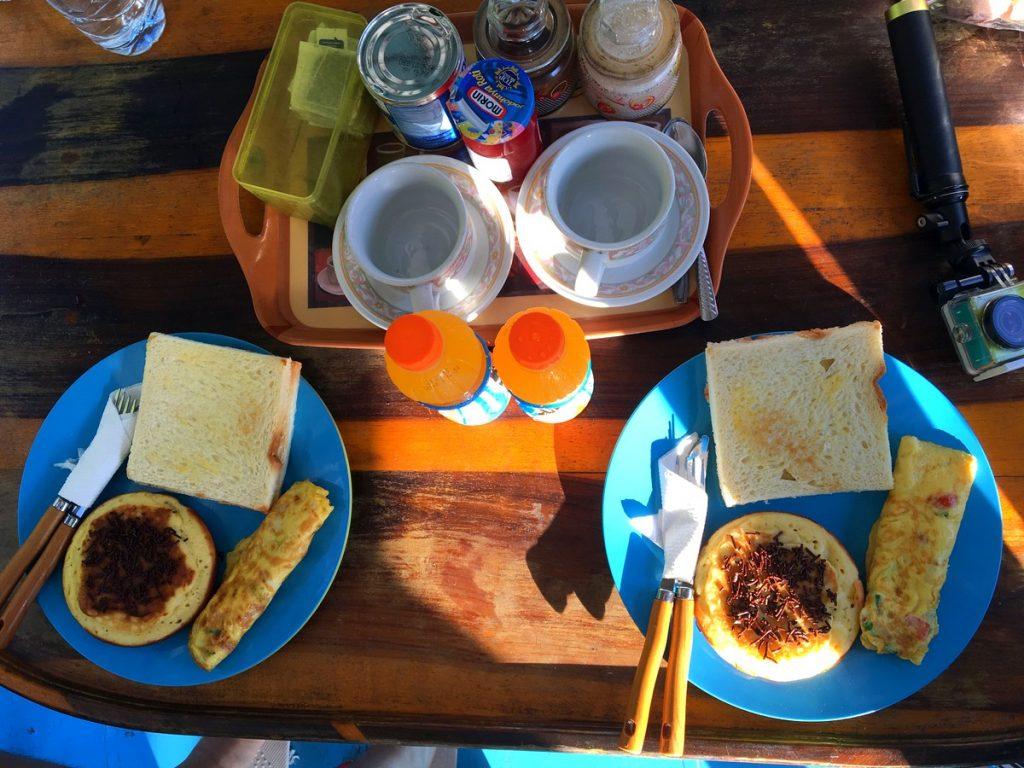 Desayuno muy rico para empezar el día