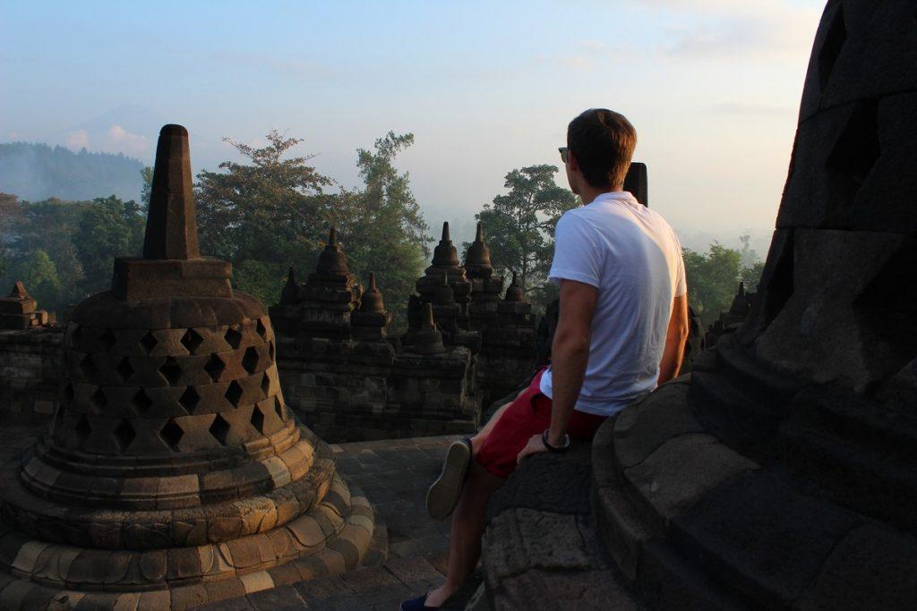Borobudur por la mañana