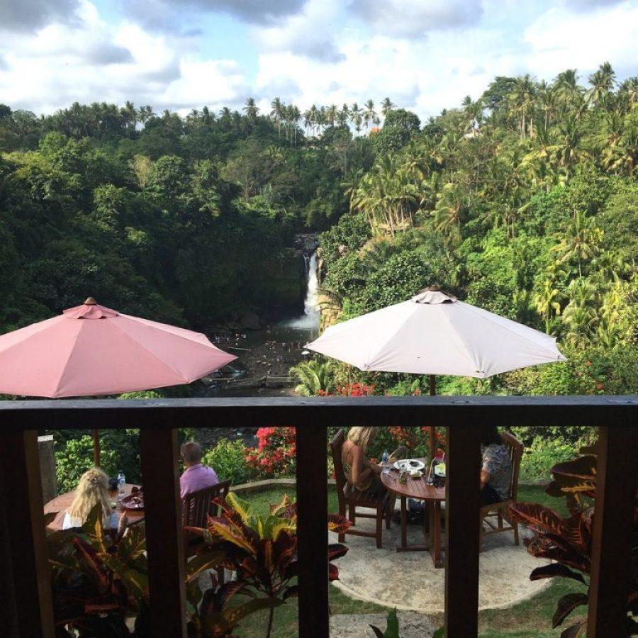 Las vistas de Tegenungan Waterfall