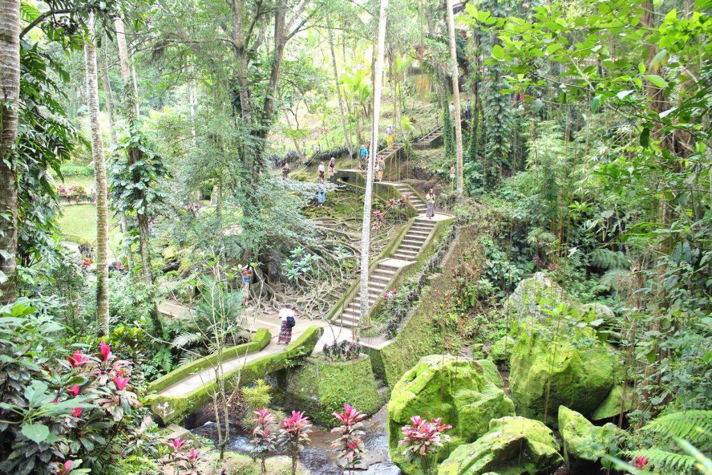 Los jardines de Goa Gajah