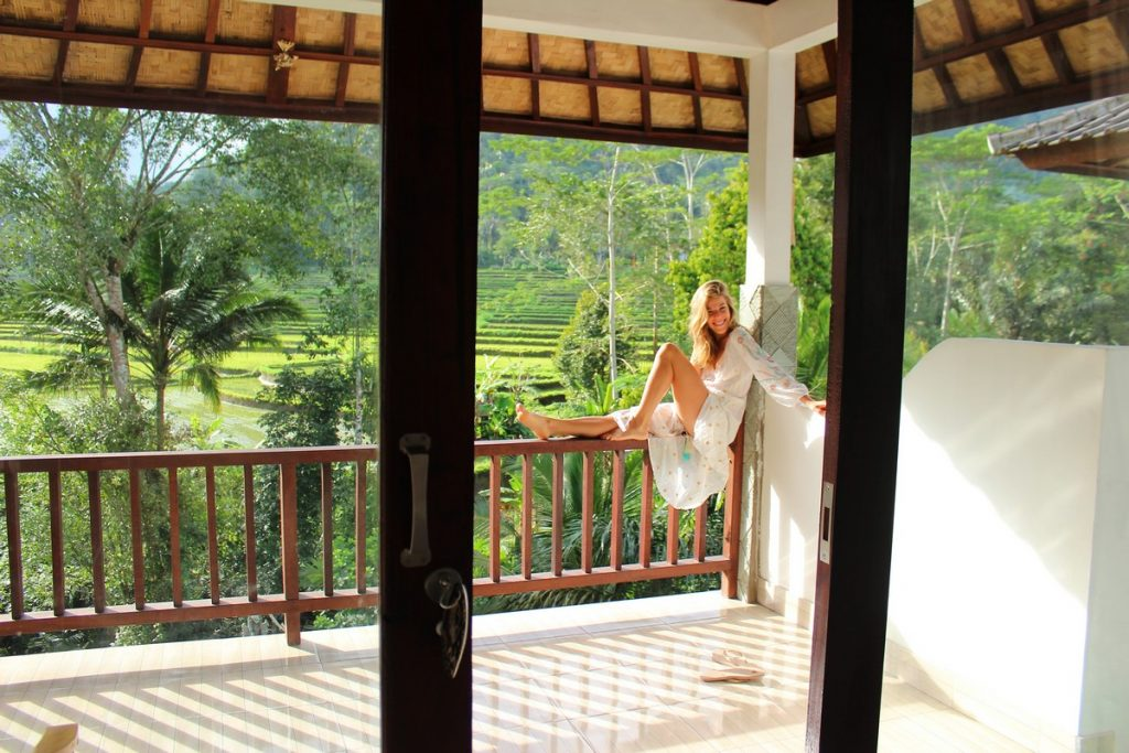Nuestra preciosa habitación en el este de Bali (Sweet Escape)